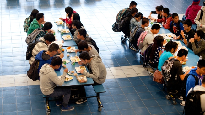 students should be allowed to leave school property for lunch