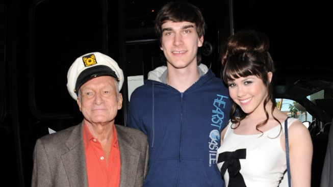 Hugh Hefner's Son Arrested in Domestic Violence Case