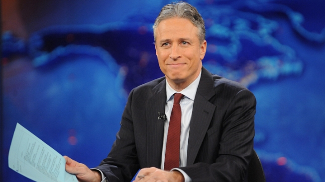 Jon Stewart Mocks Candidates' Bids for Hispanic Voters