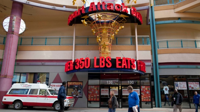 Heart Attack Grill Spokesman Dies of Heart Attack