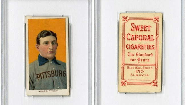 Honus Wagner Baseball Card Auctioned Online for $2.1M