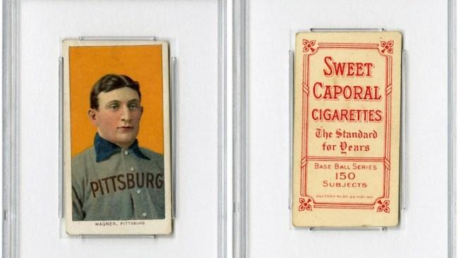Honus Wagner Baseball Card Auctioned Online for $2.1M