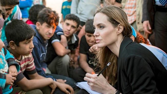 Jolie Urges Leaders to Make Syria Diplomacy Work