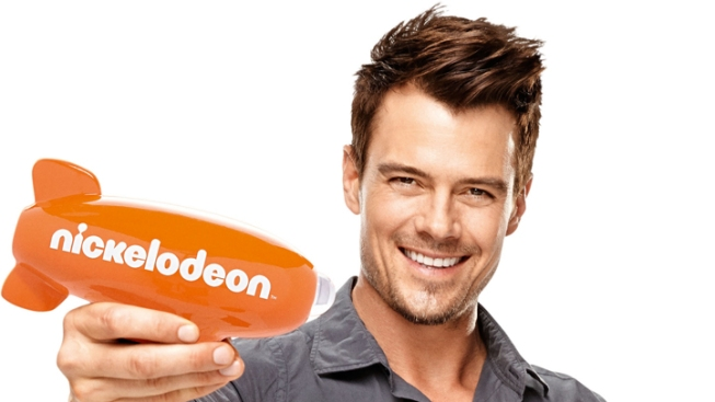 Duhamel Ready to be Slimed at Kids' Choice Awards