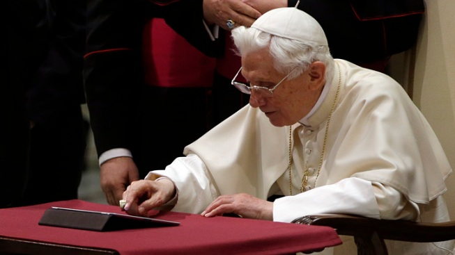 Vatican: Pope Benedict XVI to Step Down on Feb. 28