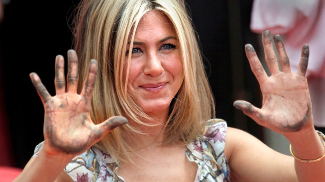 Jennifer Aniston's Fame Cemented on Hollywood Walk of Fame
