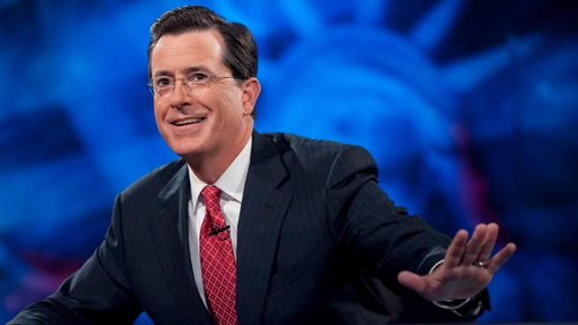 "Stephen Colbert Talks Super PACs on ""Rock Center"""