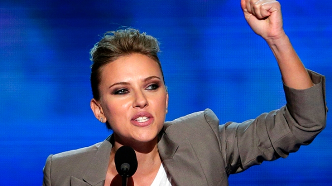Scarlett Johansson Leads Star Power at Democratic National Convention