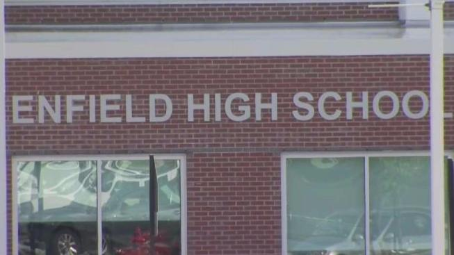 Juvenile Arrested After Threatening Message Found on Bathroom Wall at Enfield High School