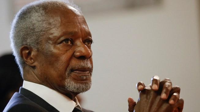 Former UN Secretary-General Kofi Annan Dies at Age 80