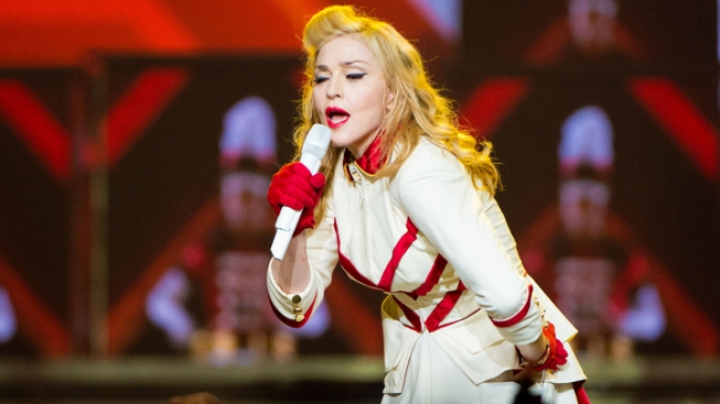 Madonna to Philly: Don't Get Fat and Lazy