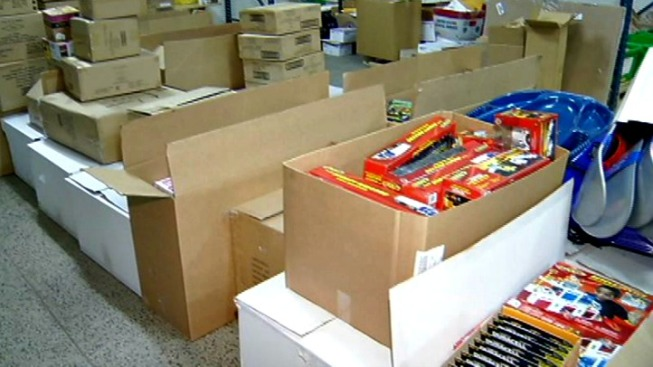 Hundreds of Toys for Sandy Hook Elementary Students