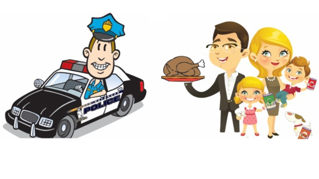 Connecting You to Old Saybrook PD Thanksgiving Food Drive