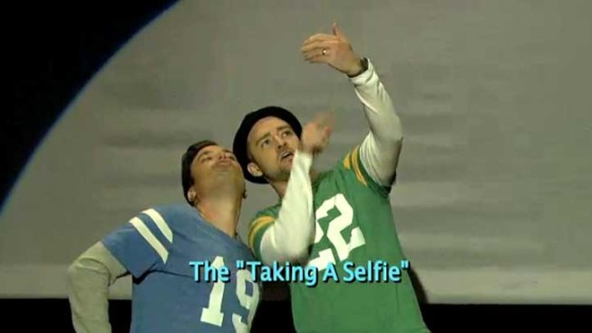 """WATCH: Fallon, Timberlake Dance Through the """"Evolution"""" of End Zone Celebrations"""