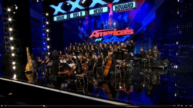 CT Based Orchestra Performs on America's Got Talent
