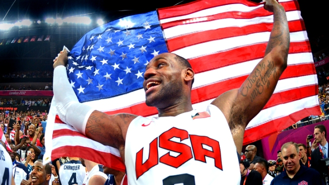 U.S. Men's Basketball Beats Spain for the Gold, 107-100