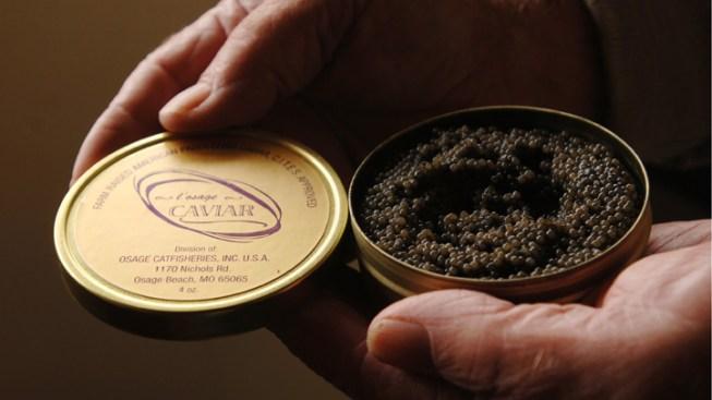 LA Malls Unveil Caviar Vending Machines