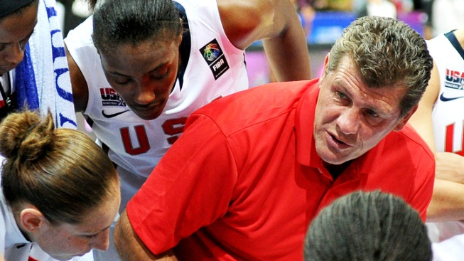 Auriemma Holds First National Team Practice