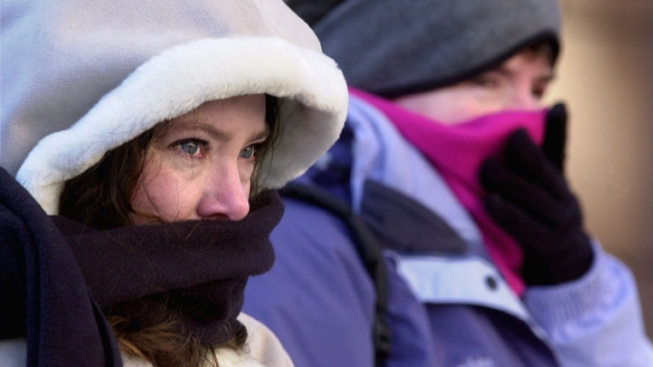 Wind Chill Puts State in Deep Freeze