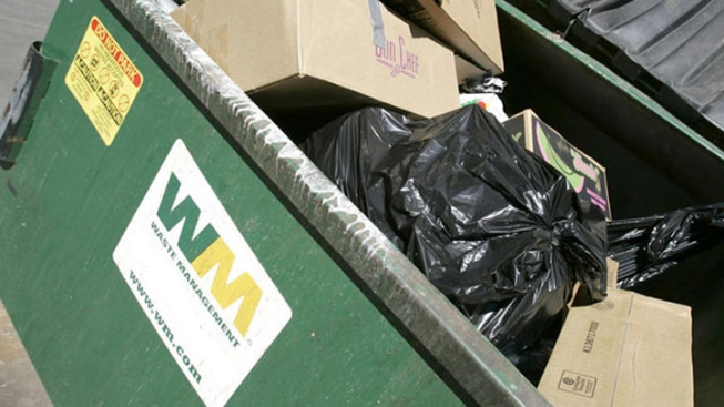 Sleeping Man Dumped Into Garbage Truck