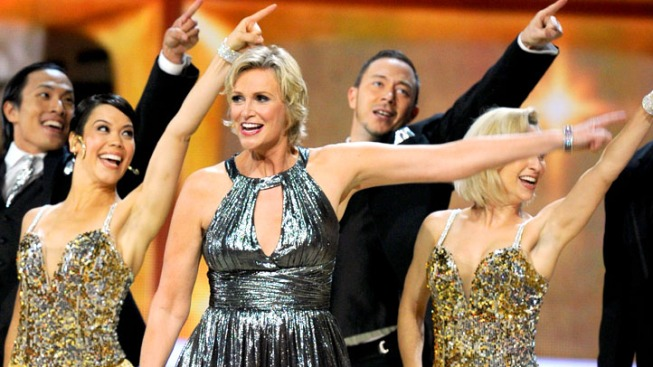 A Gleeful Emmy Night for Jane Lynch