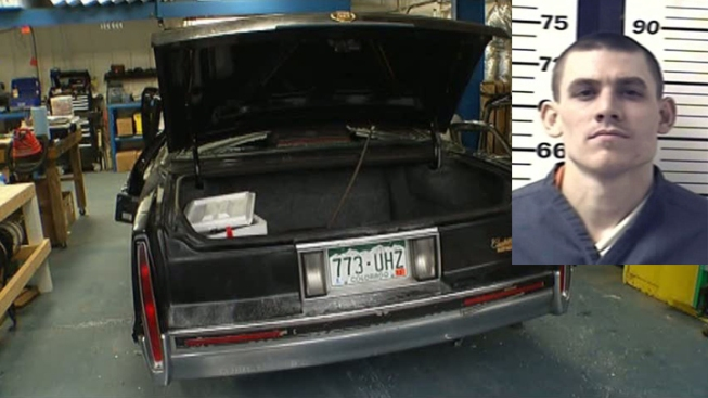 Bomb-Making Materials Found in Ebel's Car