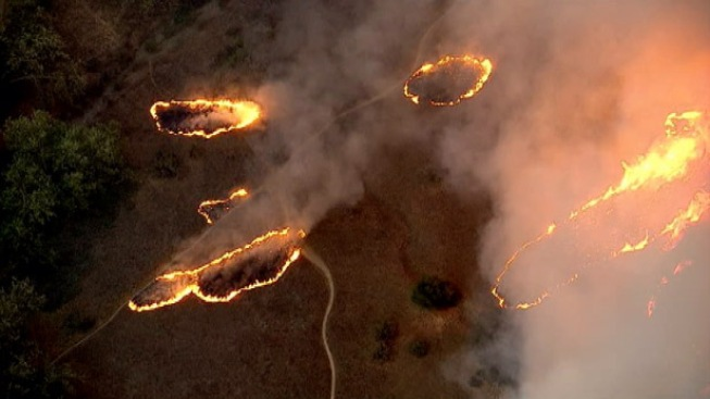 """Monster"" Calif. Wildfire Forces New Evacuation"