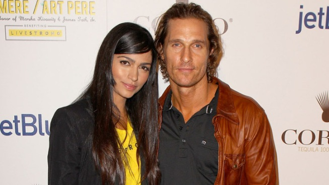 Matthew McConaughey, Camila Alves Wed in Texas