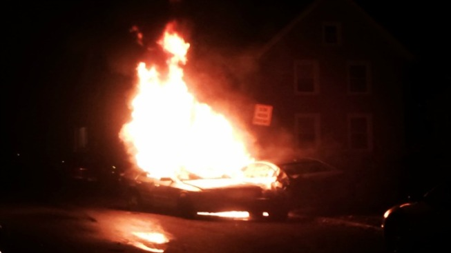 One Dead In Fiery Meriden Crash