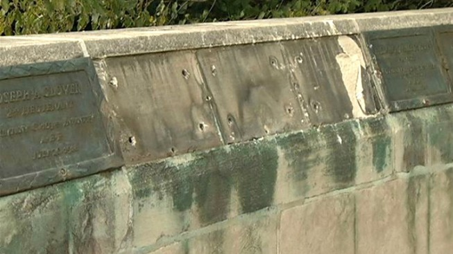 Plaques Stolen from WW1 Monument; Who Pays?