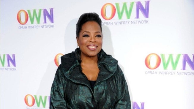 Oprah Meditates With Women During Iowa Visit