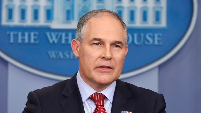 EPA Chief Sweeps Office for Bugs, Installs High-Tech Locks