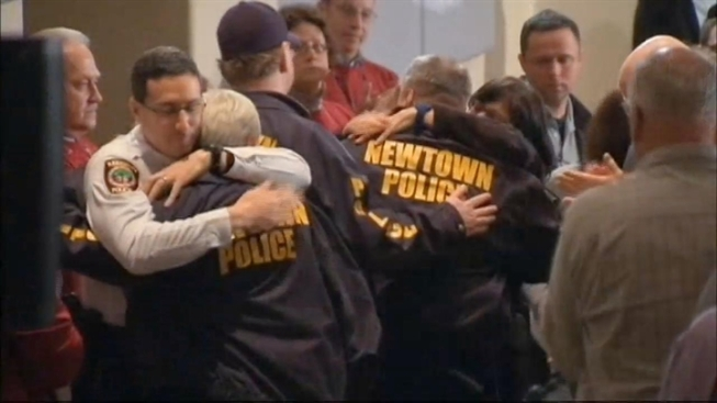 Newtown Police Officers Seek More Help in Wake of Tragedy