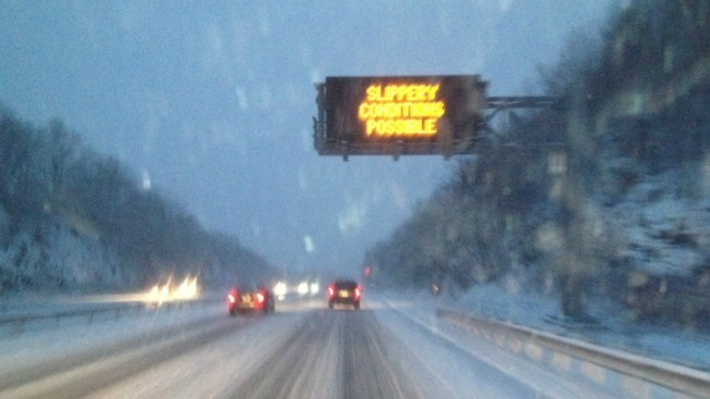 Severe Weather Means Dangerous Travel