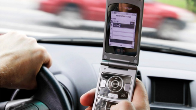 Police Announce Crackdown on Texting While Driving
