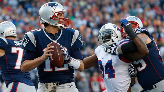 Brady Hopes to Fix Red-Zone Woes