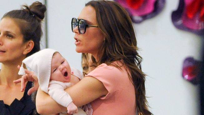 David and Victoria Beckham's Baby Offered Modeling Contract