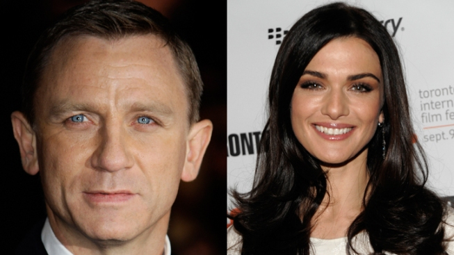 Daniel Craig and Rachel Weisz Wed