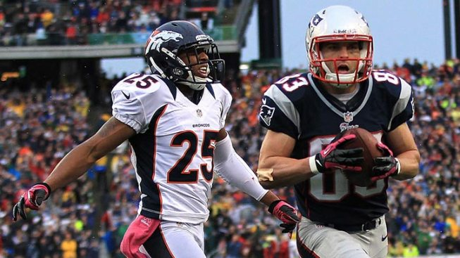 Welker, Ridley Lead Way for Pats
