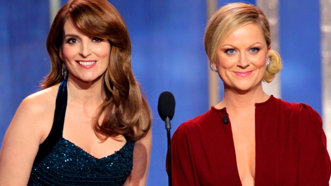 Fey and Poehler Win Laughs