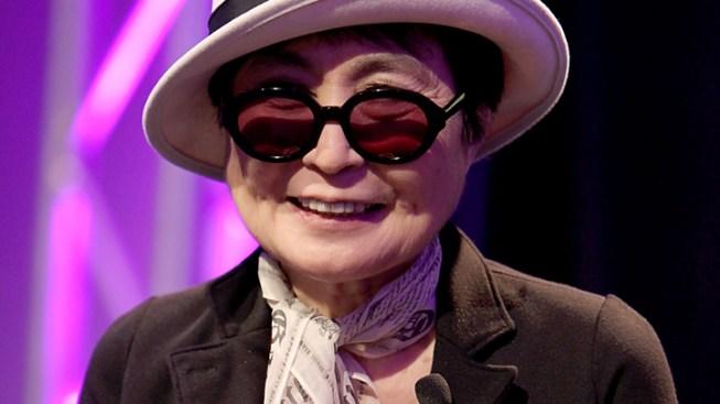 Yoko Ono Back Home after Overnight Hospital Stay