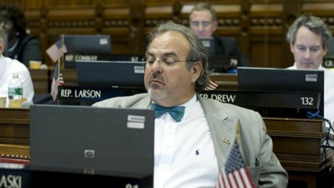 Lawmaker Asleep at Wheel Charged With DUI