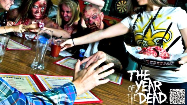 Zombie Calendar Party This Weekend