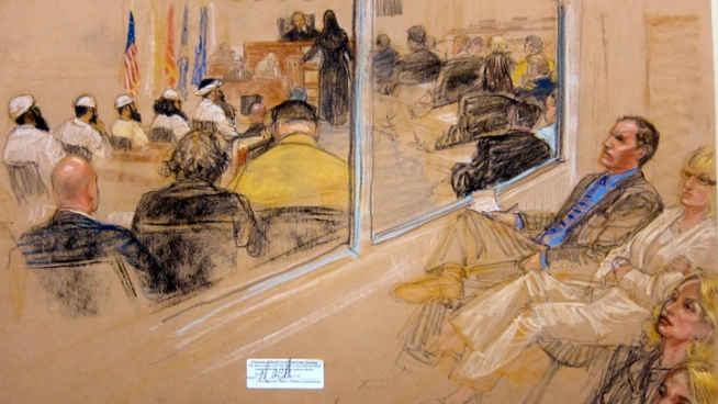 No Outbursts at Gitmo 9/11 Pretrial Hearing