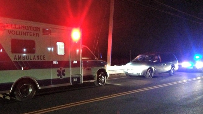 Pedestrian Struck in Ellington