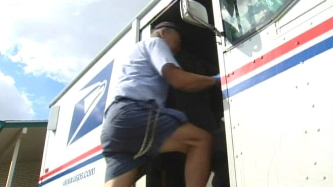 The Postal Service has announced a plan to end Saturday delivery in an effort to save billions of dollars for the cash-strapped agency. NBC's Chris Clackum reports.