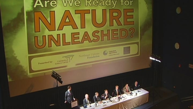Hurricane season is here and experts on the Nature Unleashed panel said people in Connecticut should be prepared to go two to three days without power.