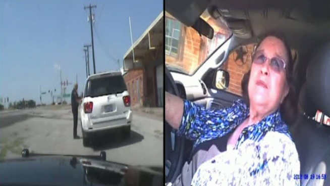 Keene police have released video of the arrest of a 77-year-old grandmother who was stopped for speeding. The raw video above, taken from the officer's dashboard camera and a small camera mounted on his uniform, shows the arrest in its entirety.