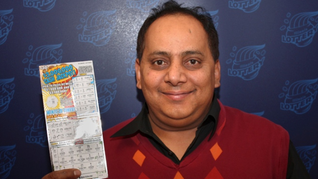 Urooj Khan, 46, won $424,449.60 in Illinois Lottery but grew ill shortly after collecting his winnings. Phil Rogers reports.