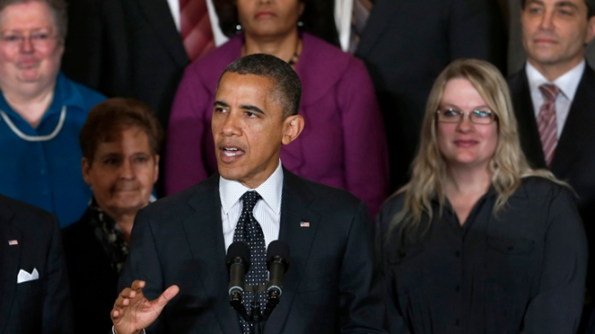 Obama: Americans Agree with My Approach on Deficit